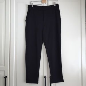 Joe Fresh Black Textured Trousers